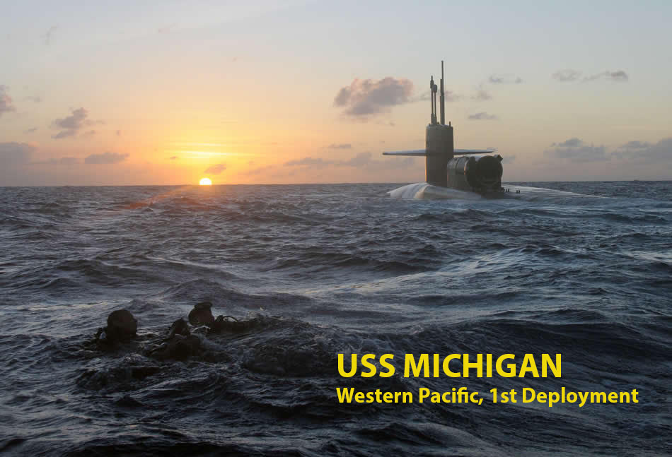 SEALS USS MICHIGAN - CAPTION